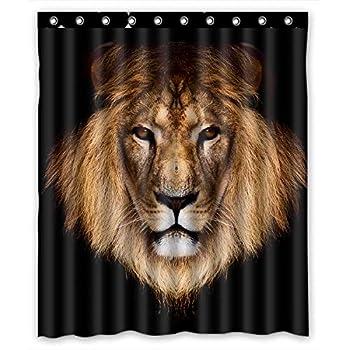 Best lion shower curtains Reviews