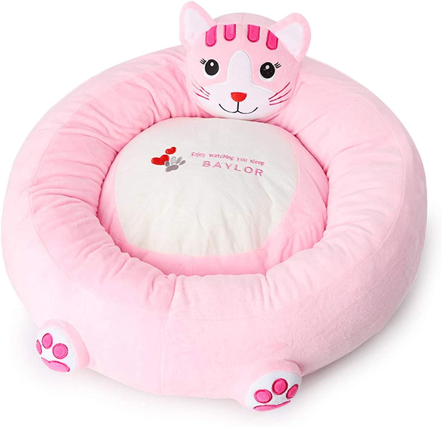 Nest Mat Pad Pet Cartoon pet Kennel can be Removed and Washed Dog Kennel cat Kennel Warm Dog Bed
