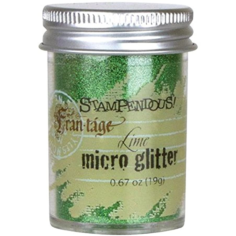 STAMPENDOUS Frantage Micro Glitter for Arts and Crafts, Lime