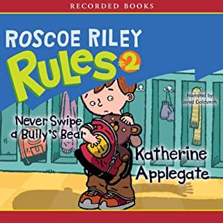 Roscoe Riley Rules #2 audiobook cover art