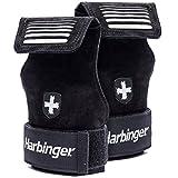 Harbinger Lifting Grips, Black, Medium/Large
