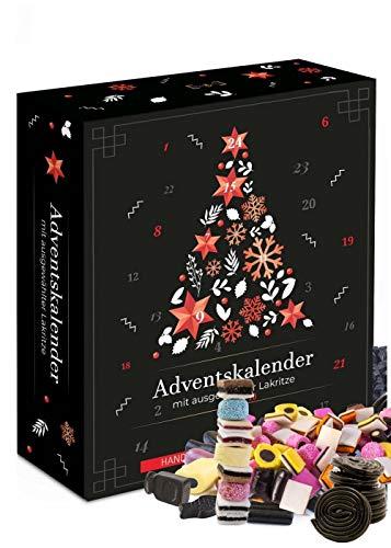 Adventskalender Lakritz I echte Lakritze im Adventskalender 2020 I 24 Lakritze im Weihnachtskalender für Lakritzliebhaber I Adventskalender Männer Frauen nur für Erwachsene