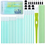 Aneco 100 Pack Cell Phone Cleaning Kit Cleaning Swab Kit Brush Set USB Charging Port Headphone Jack Cleaning Kit Compatible with iPhone, iOS Android, Cell Phone, Electronics Cleaner