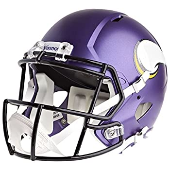 NFL Minnesota Vikings Riddell Full Size Replica Speed Helmet Medium Purple