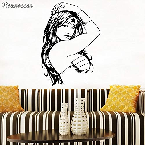 Sanzangtang Sticker Comic Vrouw Action Film Helden Vinyl Kunst Deco Gift Slaapkamer Sticker Muurtattoo