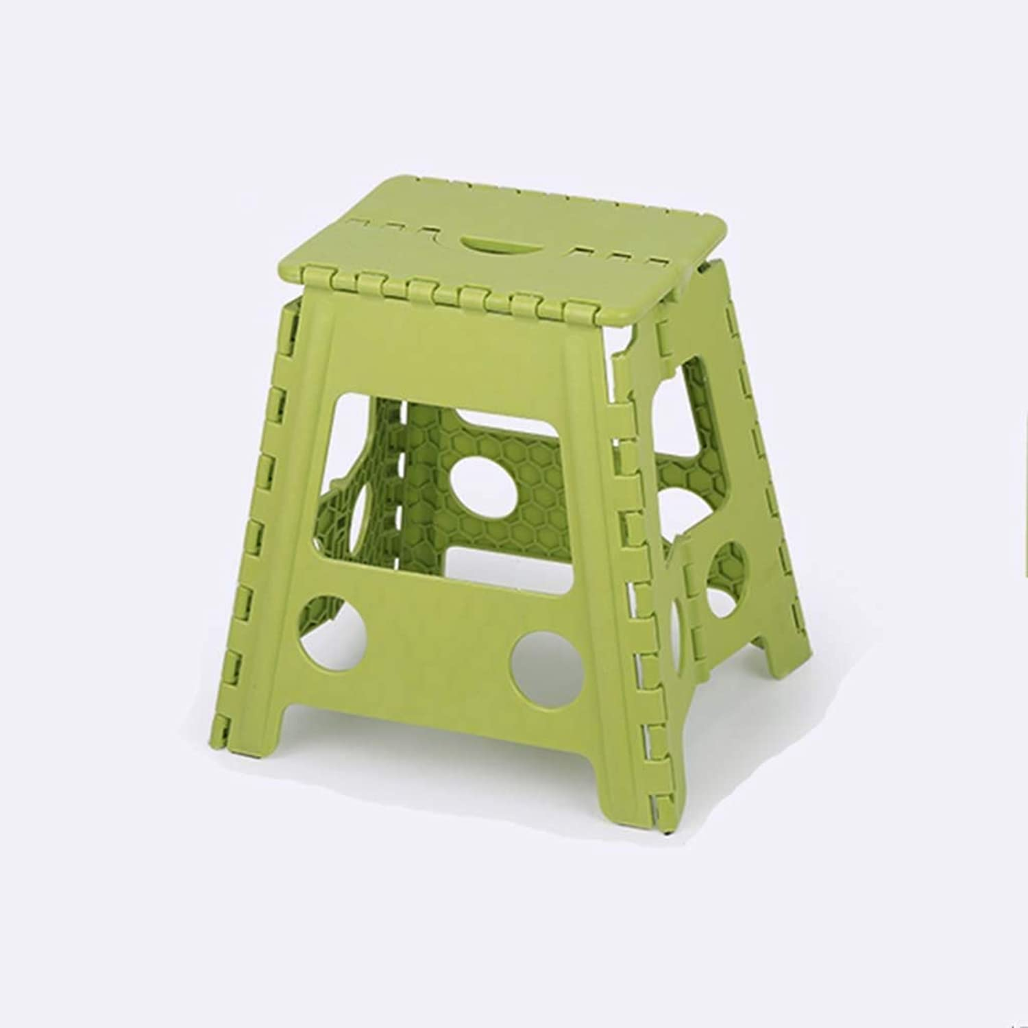 Stools Super Strong Plastic Folding Step Stool - Premium Compact and Lightweight Anti Slip Foldable Stools with Handles for Kids and Adults Latest Model (Size   XXL)