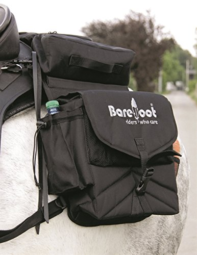 Barefoot - Satteltasche schwarz