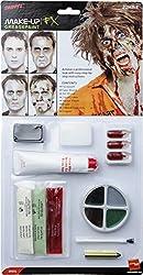 Ofertas Tienda de maquillaje: Incluye Kit de zombi de látex, pintura facial, sangre falsa, sangre en gel, látex líquid Disponible en solo un tamaño Nuestro equipo interno de seguridad asegura que todos nuestros productos son manufaturados y rigurosamente testados para cumplir con...