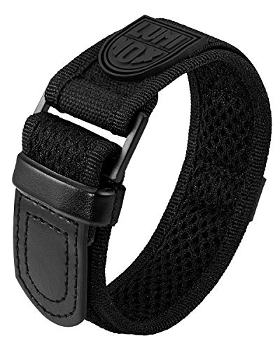 Genuine Luminox Replacement Band/Velcro Strap for Navy Seals Series 3000, 3900-27 mm Black