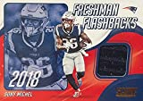 SONY MICHEL Authentic Jersey RELIC Patch Football Card...