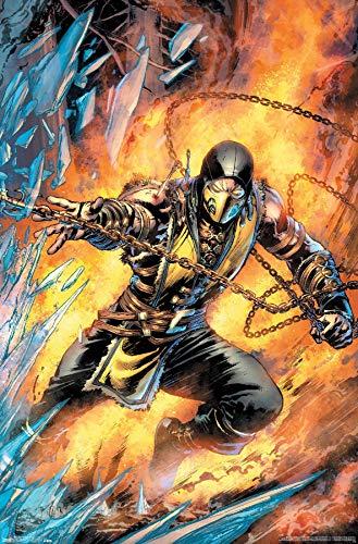 Trends International Mortal Kombat-Scorpion Comic Wall...