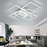 LED Deckenleuchte Dimmbar 3000K-6500K Wohnzimmer Esstischleuchte Schlafzimmer Lampe mit...