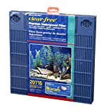 Penn-Plax Premium Under Gravel Filter System - for 20 Gallon Fish Tanks & Aquariums, Blue (CFU20)