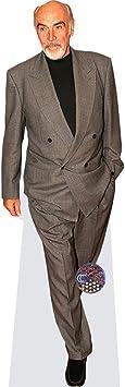mini size Standee. Sean Connery Cardboard Cutout
