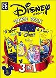 Disney Triple Pack (The Little Mermaid, Winnie the Pooh & Tigger Too, Princess Fashion Boutique) -