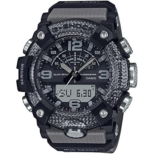 Casio G-Shock Mudmaster GG-B100-8AER - Reloj analógico y Digital con Caja Reforzada con Carbono.
