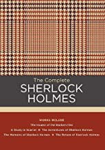 The Complete Sherlock Holmes: Works include: The Hound of the Baskervilles; A Study in Scarlet; The Adventures of Sherlock Holmes; The Memoirs of ... of Sherlock Holmes (Chartwell Classics)