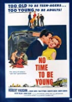 No Time to Be Young [DVD]