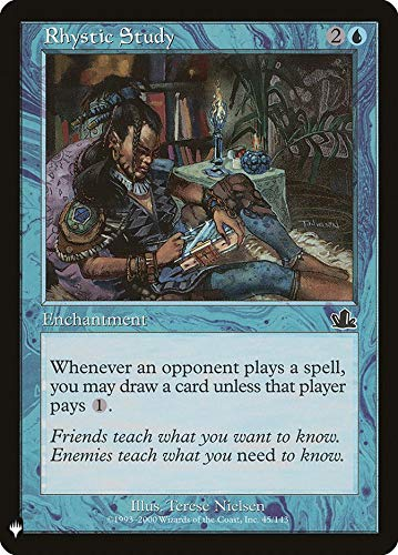 Magic: The Gathering - Rhystic Study - Mystery Booster - Prophecy