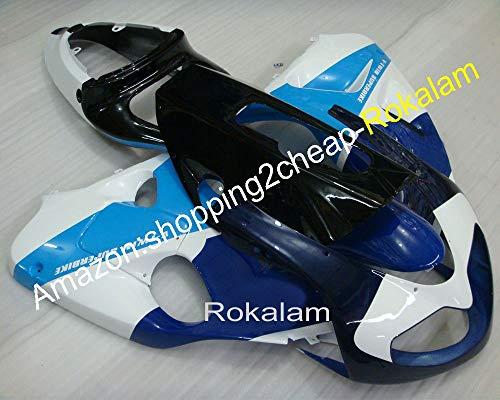 98–03 TL 1000R Ensemble de Carénage Tl1000r 1998–2003 Bleu et blanc Moto carrosserie Carénages de moulage par injection