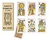 Dal Negro- Tarocco Indovino 78 Carte, Colore Beige, 043002...