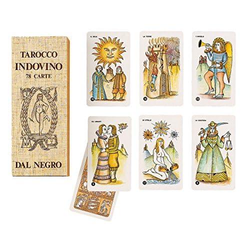 Dal Negro- Tarocco Indovino 78 Carte, Colore Beige, 043002