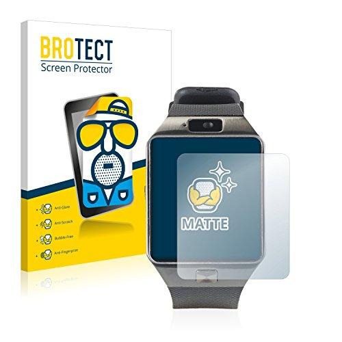 BROTECT 2X Entspiegelungs-Schutzfolie kompatibel mit Simvalley Mobile PW-430.mp PX-4057 Bildschirmschutz-Folie Matt, Anti-Reflex, Anti-Fingerprint