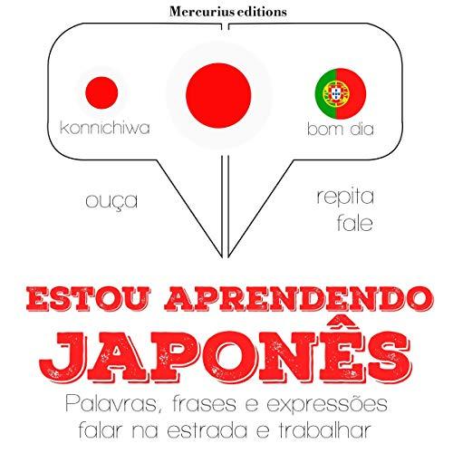 Estou aprendendo japonês audiobook cover art