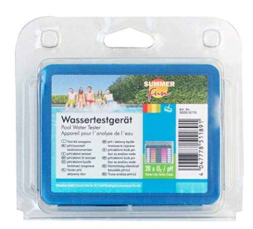 Summer Fun 502010770 Wassertestgerät Sauerstoffmethode