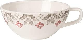 Villeroy & Boch Artesano Montagne Tea Cup, 240 ml, Premium Porcelain, White/Grey