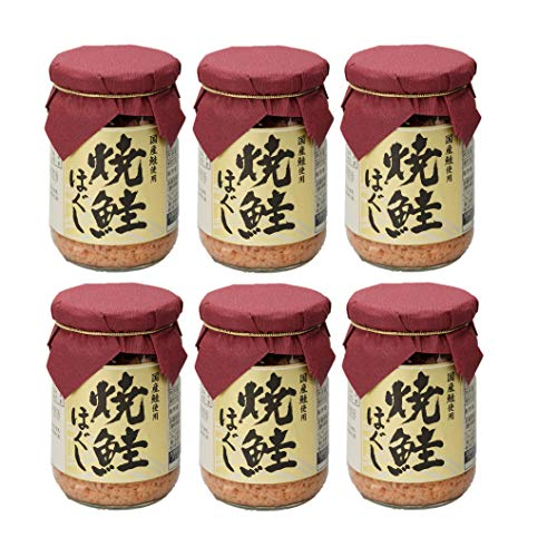 国産鮭使用 焼鮭ほぐし 150g (6本)