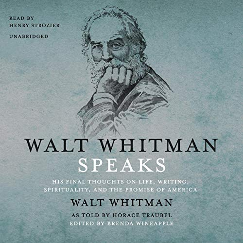 Page de couverture de Walt Whitman Speaks