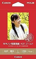 キヤノン 写真用紙光沢ゴールドL判200枚 GL-101L200 00915297 【まとめ買い3冊セット】