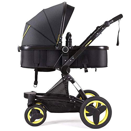 Cheap TZZ Baby Stroller Reversible Pram Strollers Infant All Terrain Infant Buggy with 5-Point Harne...