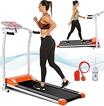 Aceshin Electric Folding Treadmill for Home with LCD Monitor