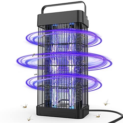 Insektenvernichter Elektrisch, DANGZW Insektenfalle Mückenlampe 16W 2500V mit UV-Licht, 360° Moskito Mörder Chemiefrei für Innen Schlafzimmer und Gärten