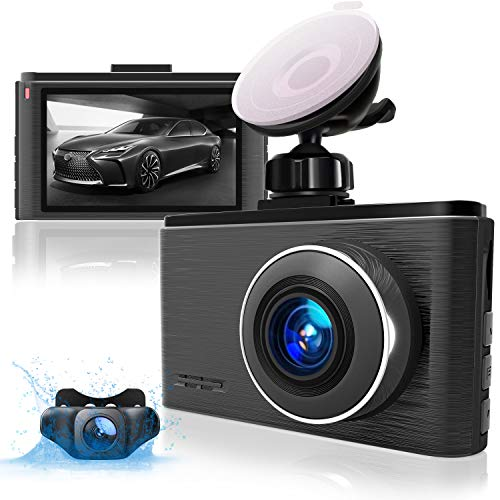 Aolbea Dash Cam Front and Rear 2.5K 1440P+1080P...