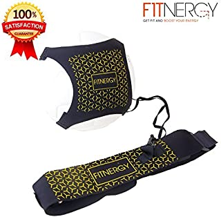 F1TNERGY Soccer Kick Ball Hands Free Solo Trainer by...