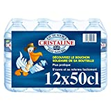CRISTALINE - Eau De Source Naturelle Pack De 12X50Cl - L'unité