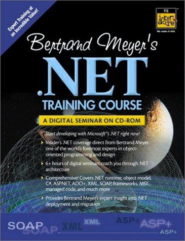Bertrand Meyer's .Net Training Course: A Digital Seminar on Cd-Romの詳細を見る