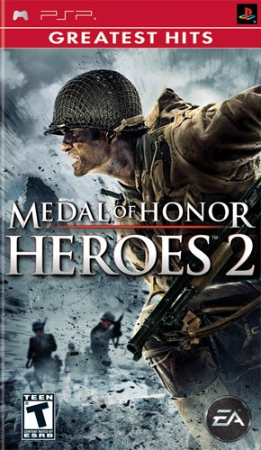 Electronic Arts Medal of Honor Heroes 2 PlayStation Portable (PSP) vídeo - Juego (PlayStation Portable (PSP), Shooter, Modo multijugador, T (Teen))