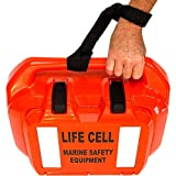 LIFE CELL Marine Safety Trailer Boat Ditch Bag Kit, Life Survival Equipment, Emergency Throwable Buoyancy Floatation Device & Storage Kit, 2 to 4 Person, Sail Yacht, Cruiser Ship Watercraft Vessel