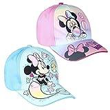 Cappellino per Bambini Minnie Mouse Rosa 51 cm