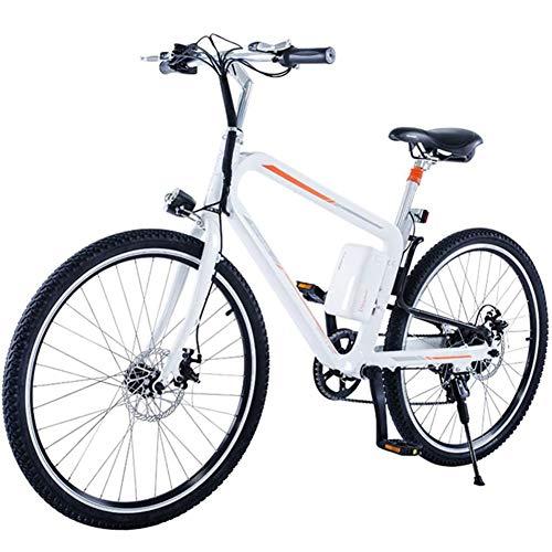 26 Pulgadas Bicicleta Eléctrica, Off Road-Bicicleta De Montaña, Pedal Asistida Cojín De...