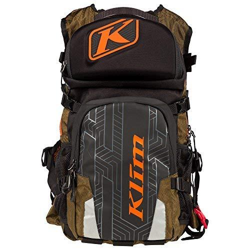 KLIM Nac Pak Technical Backpack With KLIM Shape Shift 3 Liter Hydrapak - Olive
