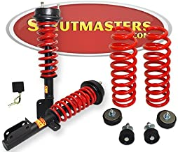 Strutmasters 4 Wheel Air Suspension Conversion Kit With Warning Light Elimination Module for 2003-2005 Range Rover L322 Chassis
