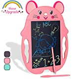 HahaGift Kids Toys for 2 3 4 5 6 7 Year Old Girl Gifts,Colorful LCD Doodle Drawing Board for Birthday Gifts for 3-7 Year Old Girls Toys Age 3 4 5 6 ,Little Girl Educational Gifts for Girls Age 4-8