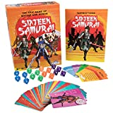 Outset Media Sixteen Samurai - Simple, Fast Paced Epic Game Of Duel, Battle, And Honor - Features 70 Unique Character Cards (Ages 8+)