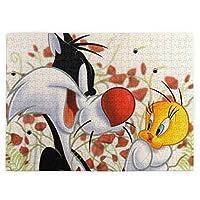 崔弟 (4) 520ピースのジグソーパズル各種の漫画の風景人物のおもちゃジグソーパズル木質【パズルデコレーション】 (38.6x52.2cm)