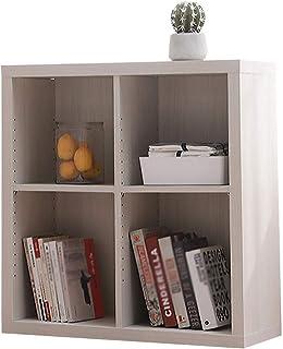 LIXMZZWJ Bibliothèque de Cube en Bois, Armoire de Rangement en Cube 4-9 étagères en Bois étagère de Rangement pour Organis...